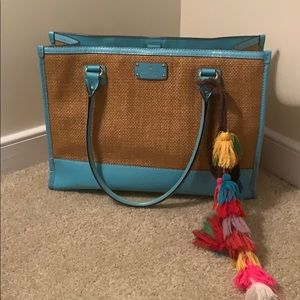 Kate Spade Straw Summer Tote